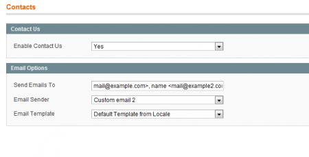 Send contact form to two mail addressesv